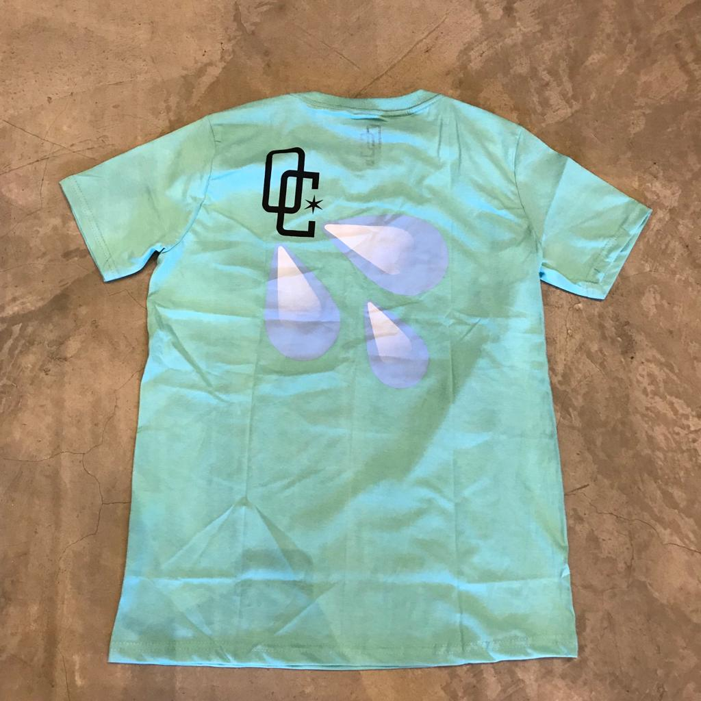 "Camiseta Overcome ""Drippin"" Tiffany"
