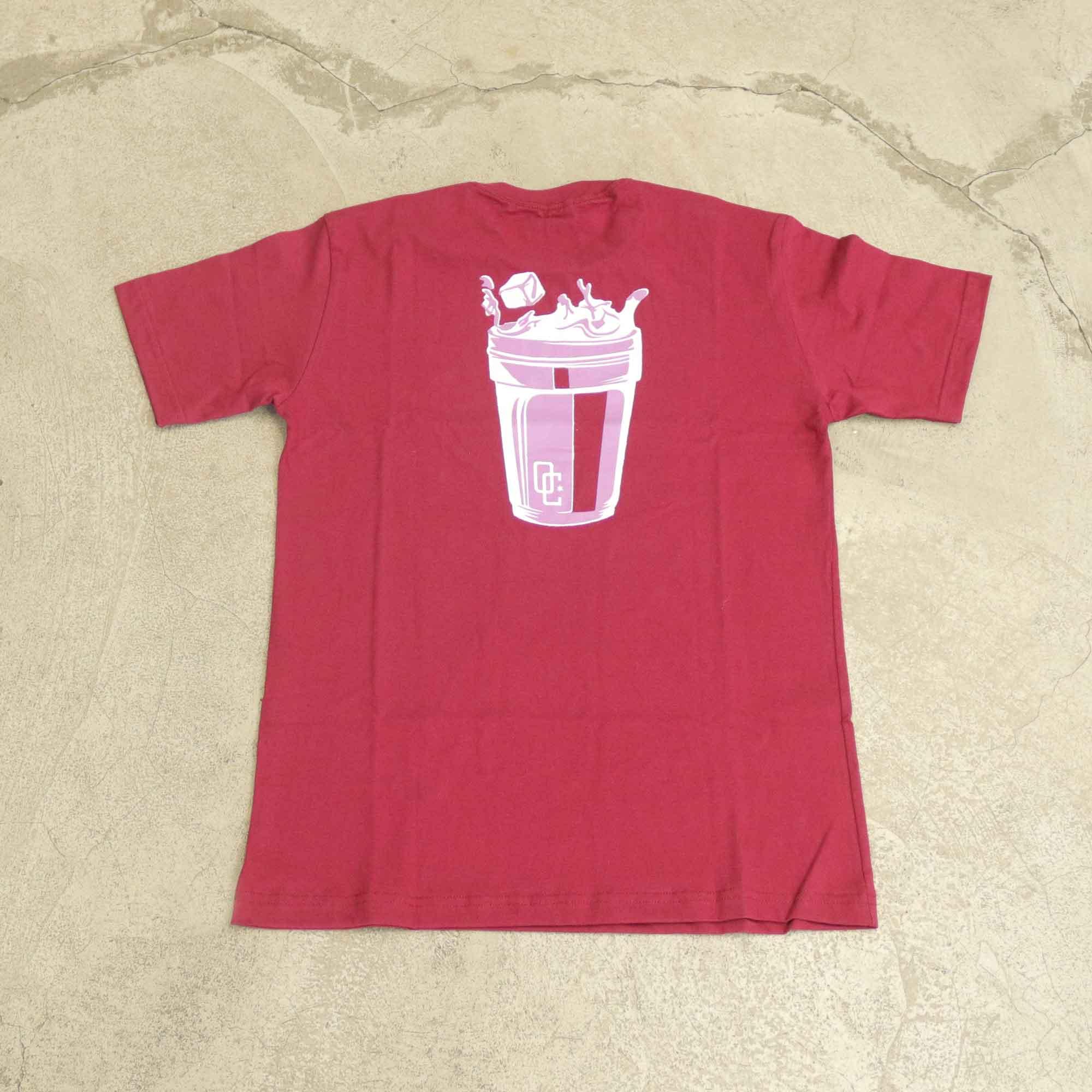 "Camiseta Overcome ""Double Cup"" Bordô"