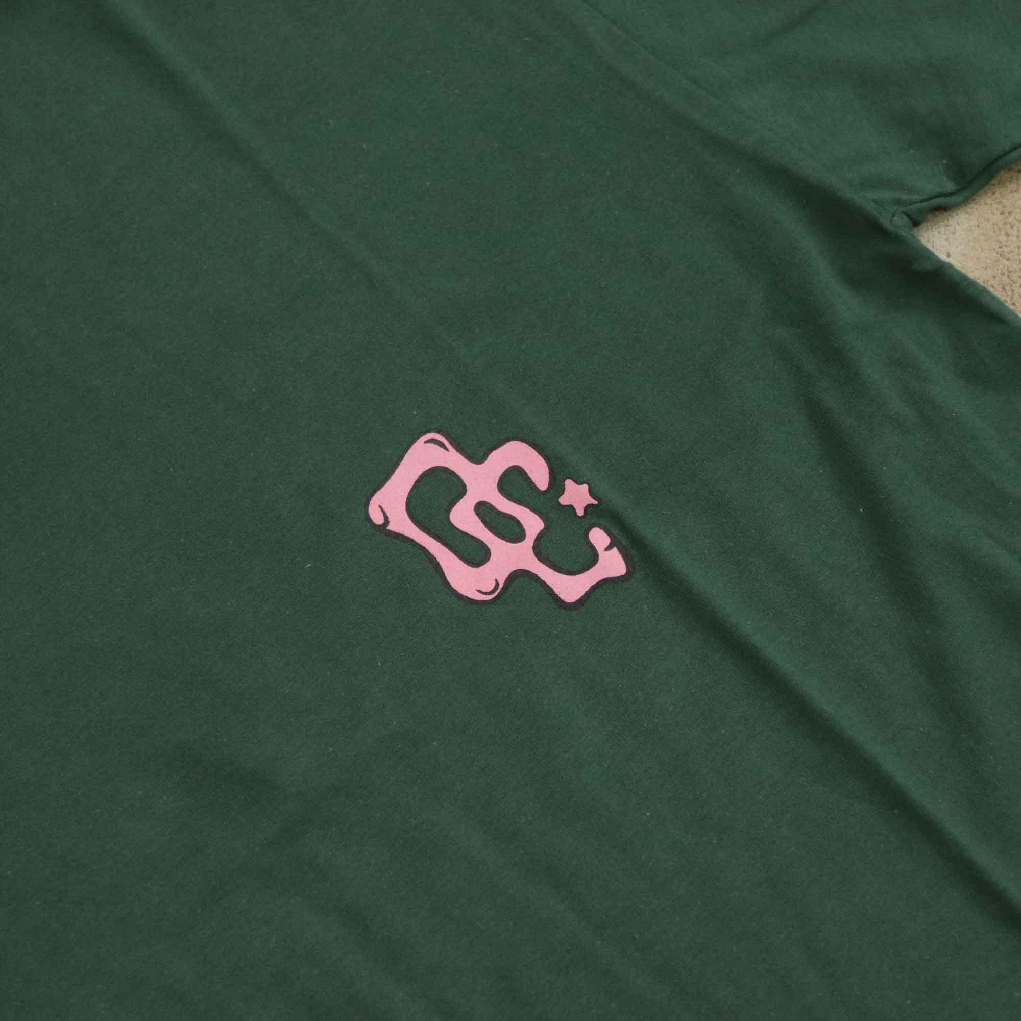 """Camiseta Overcome """"Ice Cream"""" Verde"""