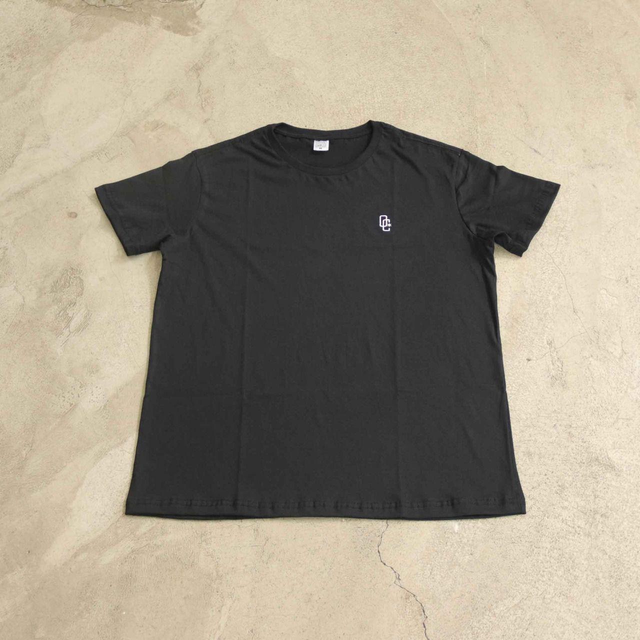 "Camiseta Overcome ""OC Logo Bordado"" Preta"