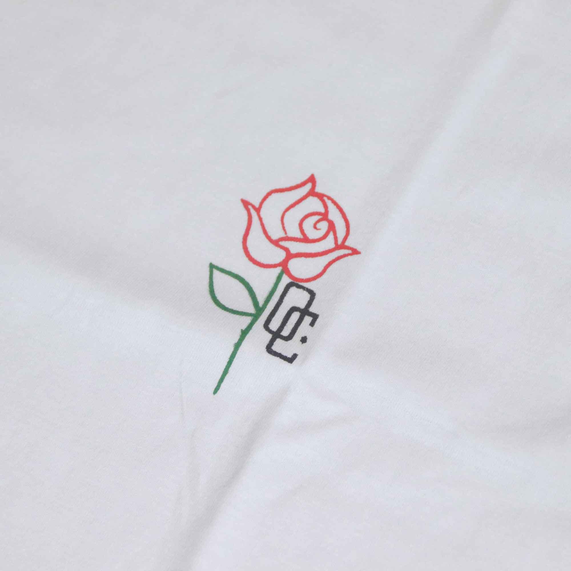 "Camiseta Overcome ""Rose"" Branca"