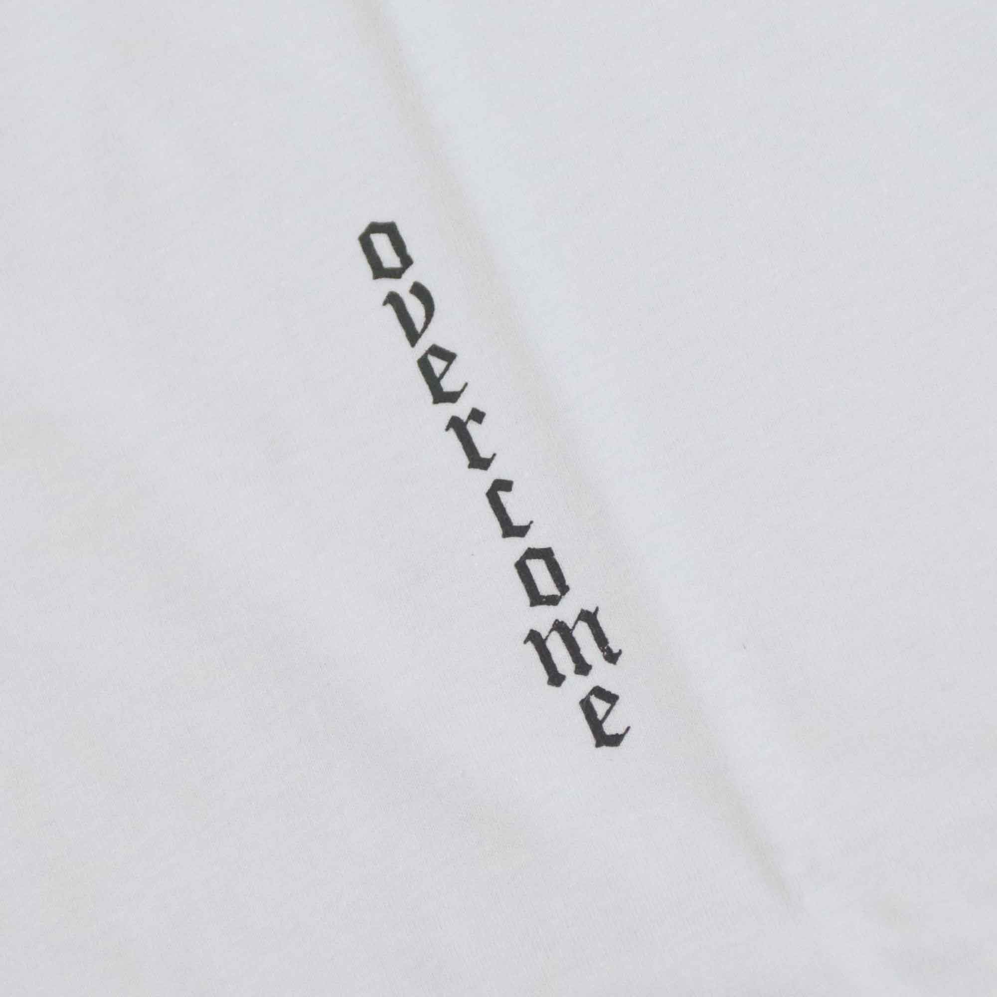 "Camiseta Overcome ""Superar"" Branca"