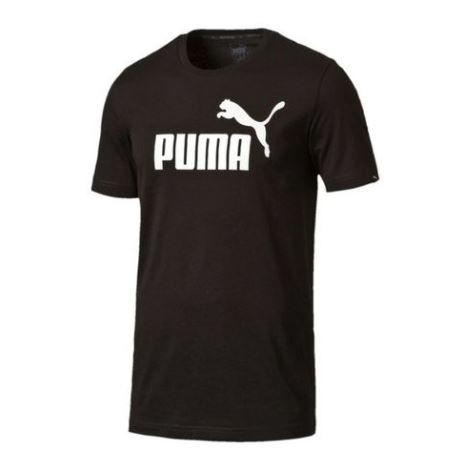 """Camiseta Puma """"Stryle no.1 Logo"""" Preta/Branca"""