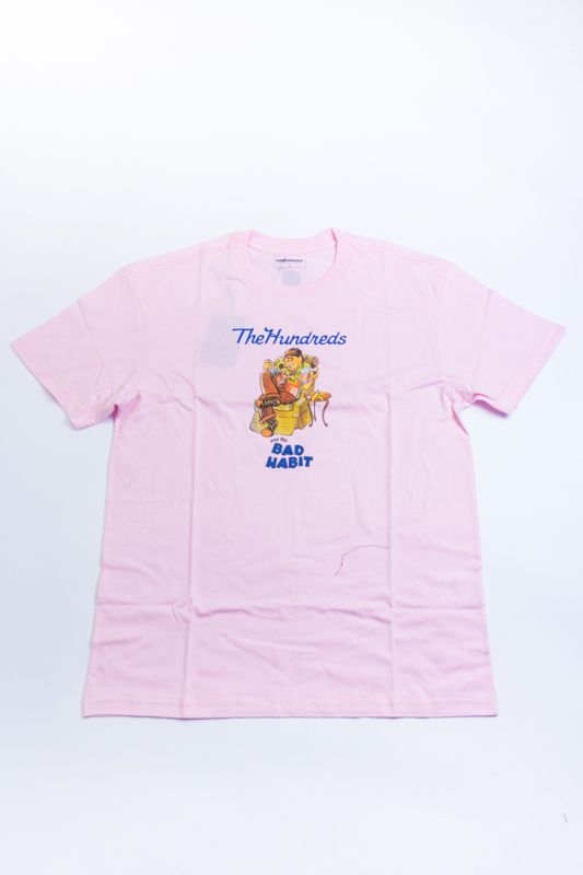 "CAMISETA THE HUNDREDS ""LOVER BEAR"" ROSA"
