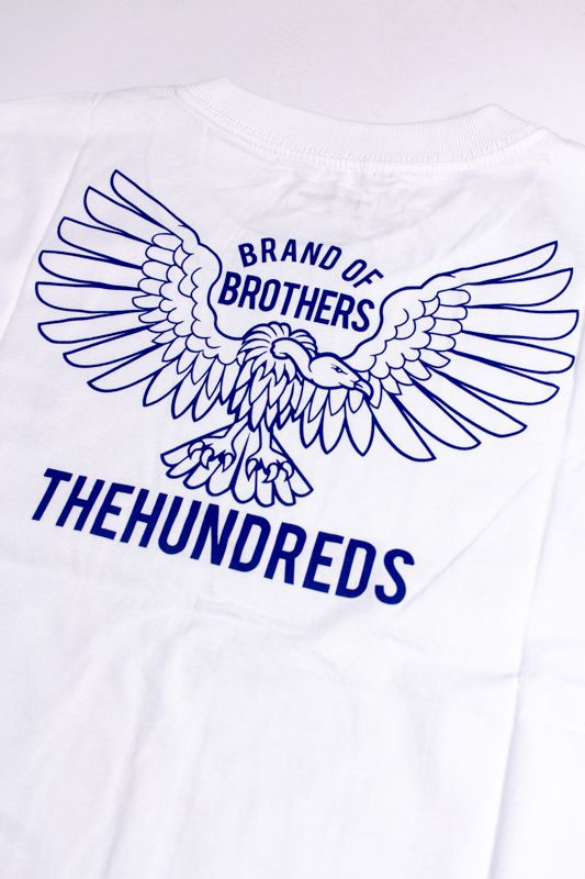"CAMISETA THE HUNDREDS ""CYCLE"" BRANCA"