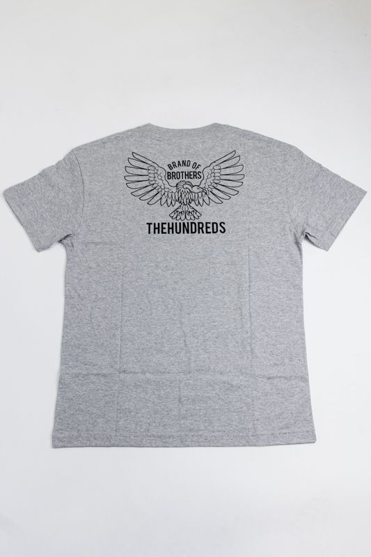 "CAMISETA THE HUNDREDS ""CYCLE"" CINZA"