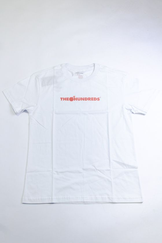 "CAMISETA THE HUNDREDS ""LOGO HALFTONE"" BRANCA"