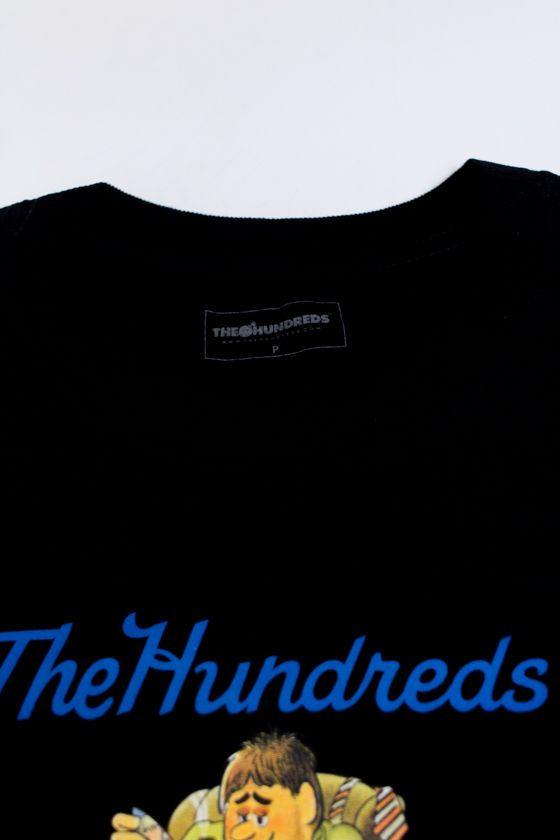 "CAMISETA THE HUNDREDS ""LOVER BEAR"" PRETA"
