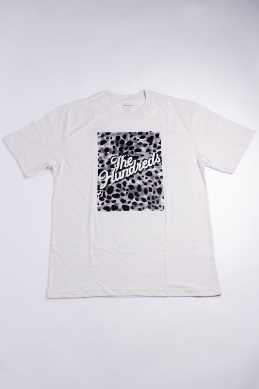 "CAMISETA THE HUNDREDS ""SLANT SPOT"" CREME"