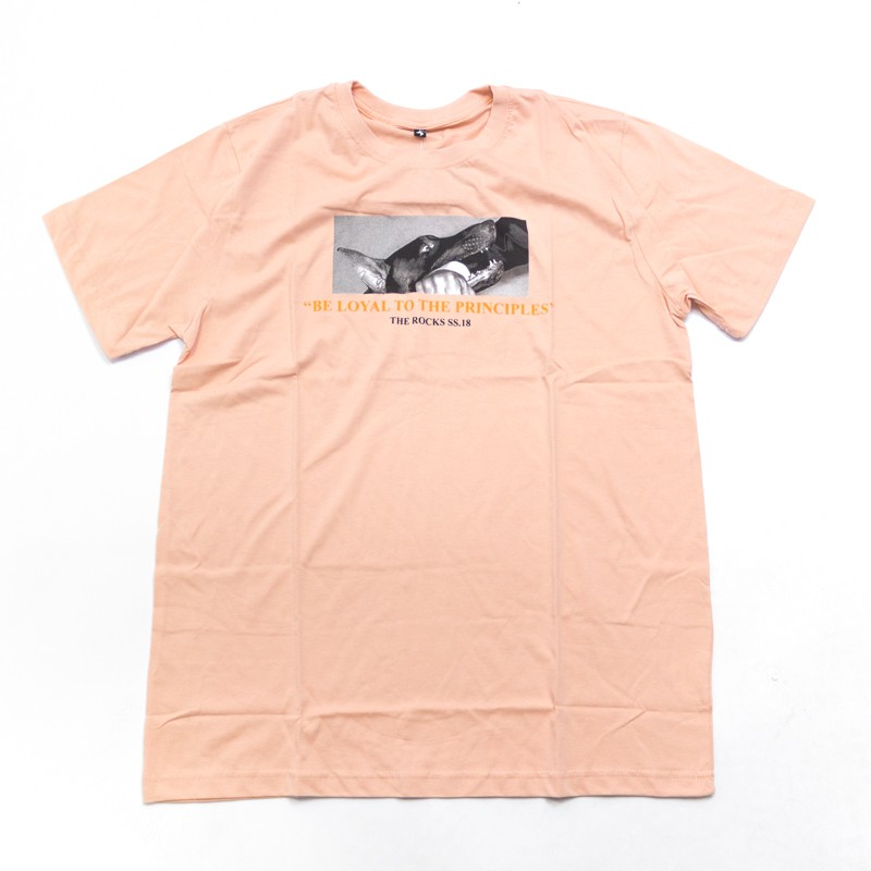 "Camiseta The Rocks ""Biting Man"" Rosa"