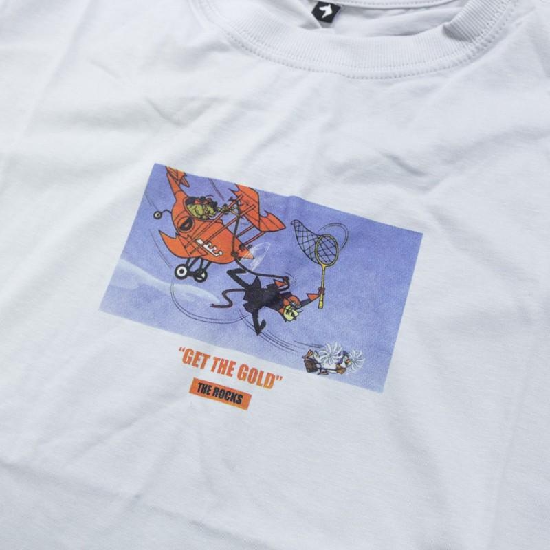 "Camiseta The Rocks ""Catch The Pigeon"" Gelo"