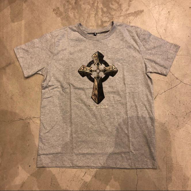 "Camiseta The Rocks ""Cross"" Cinza"