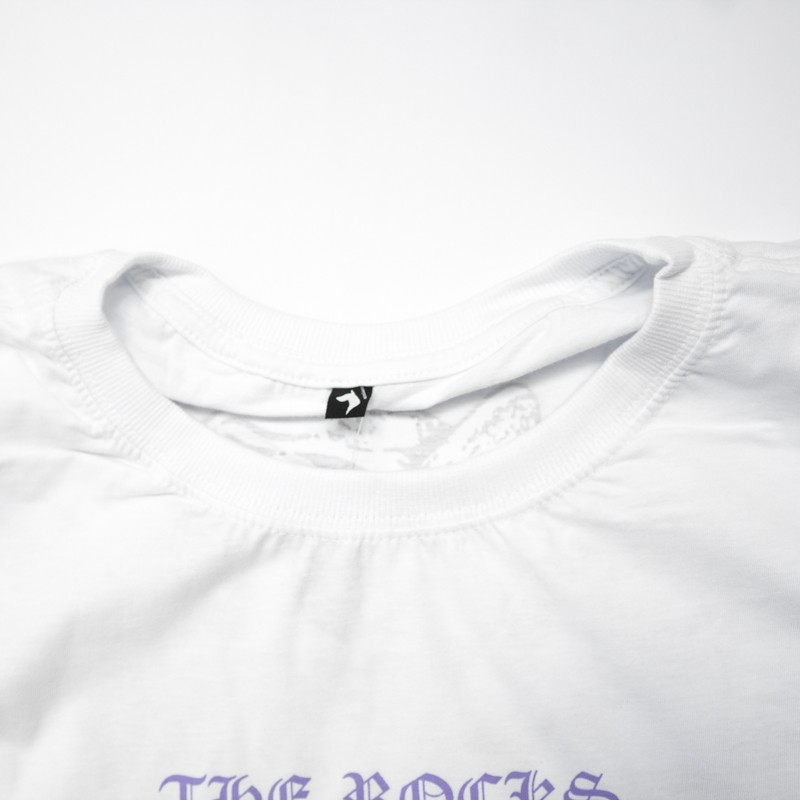 "Camiseta The Rocks ""Diana Busted"" Branca"