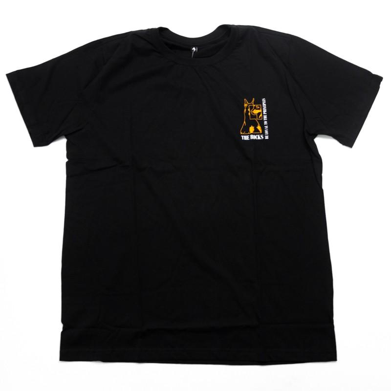 """Camiseta The Rocks """"Dob Recostructed"""" Preta"""
