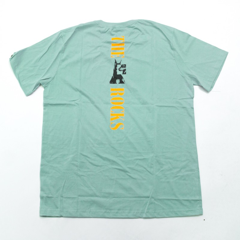 "Camiseta The Rocks ""Dob Recostructed"" Verde Agua"