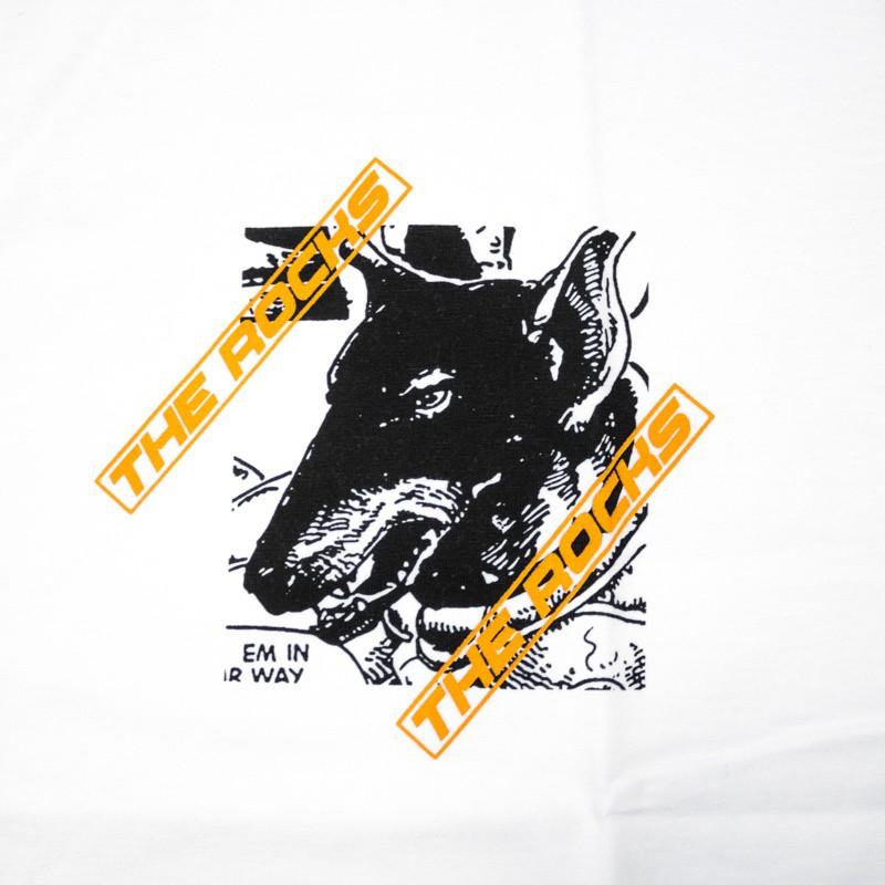 "Camiseta The Rocks ""Drawing"" Branca"