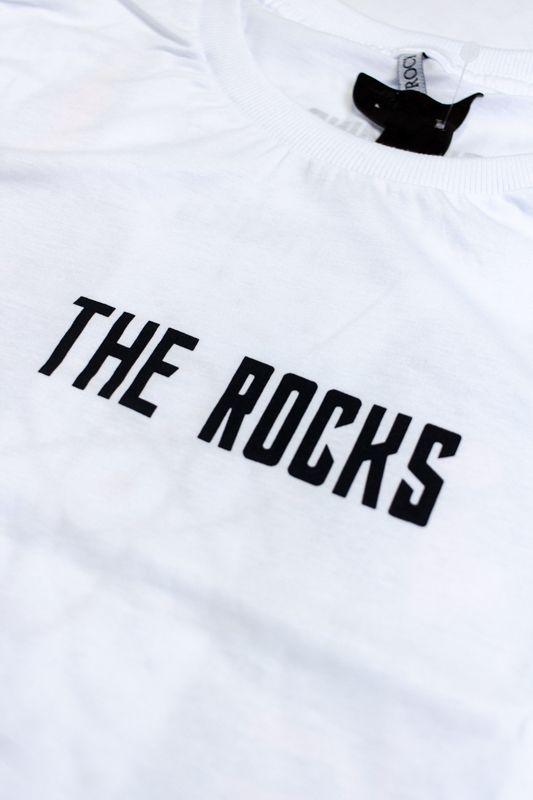 "CAMISETA THE ROCKS ""ENIGMA"" BRANCA"