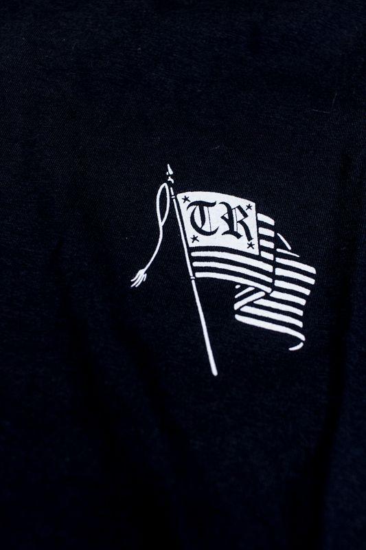 """CAMISETA THE ROCKS """"FLAG"""" PRETA"""