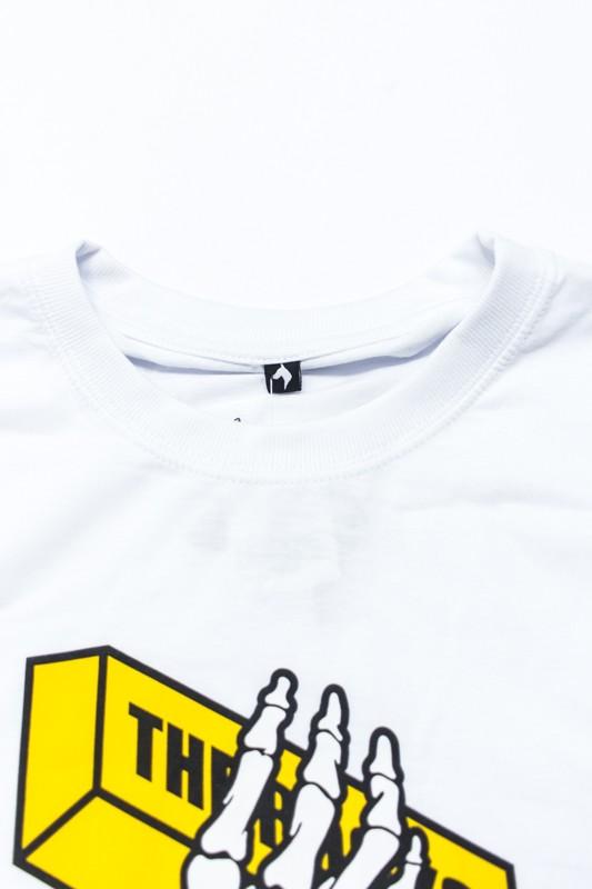 "Camiseta The Rocks ""Gold Bon"" Branca"