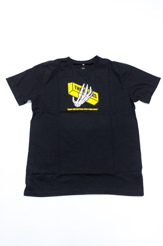 """Camiseta The Rocks """"Gold Bon"""" Preta"""