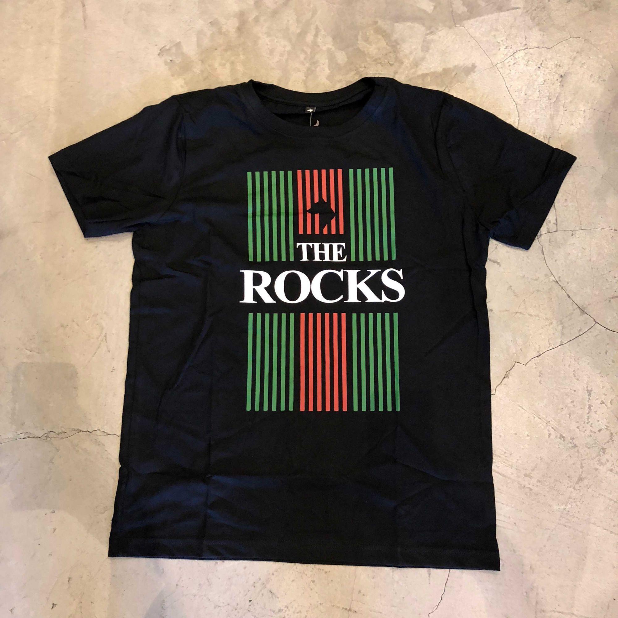 "Camiseta The Rocks ""Gucci Flag"" Preta"