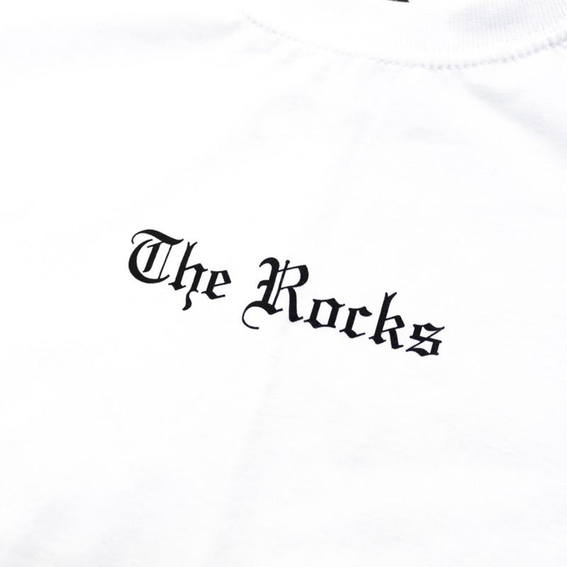 """Camiseta The Rocks """"Logo Stately"""" Branca"""
