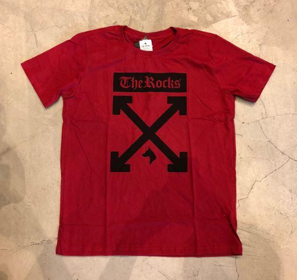 "Camiseta The Rocks ""OFF"" Vermelha"