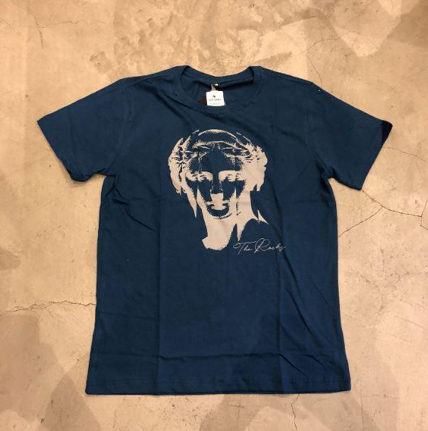 "Camiseta The Rocks ""REFLECTION OF THE STATUE"" Azul"