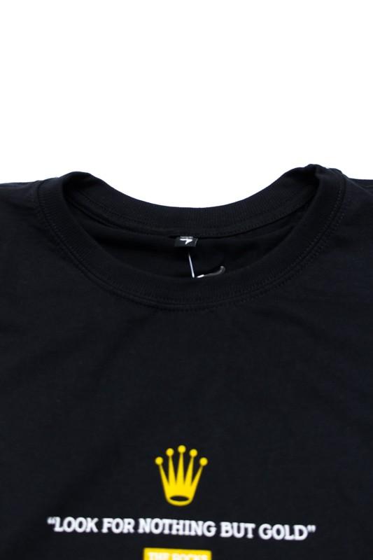 """Camiseta The Rocks """"Rolex"""" Preta"""