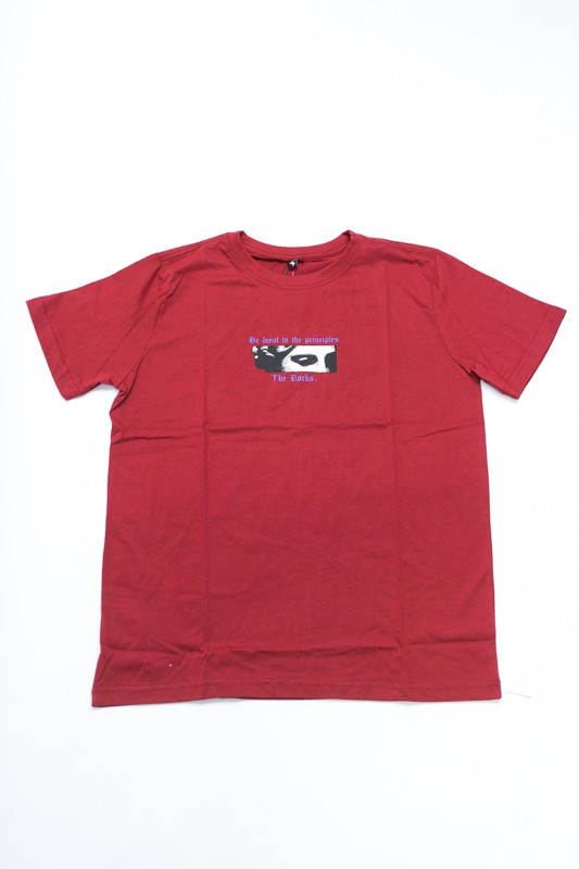 "Camiseta The Rocks ""Stately"" Bordo"