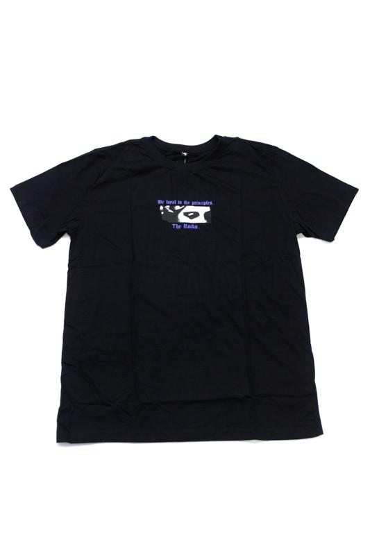 """Camiseta The Rocks """"Stately"""" Preta"""