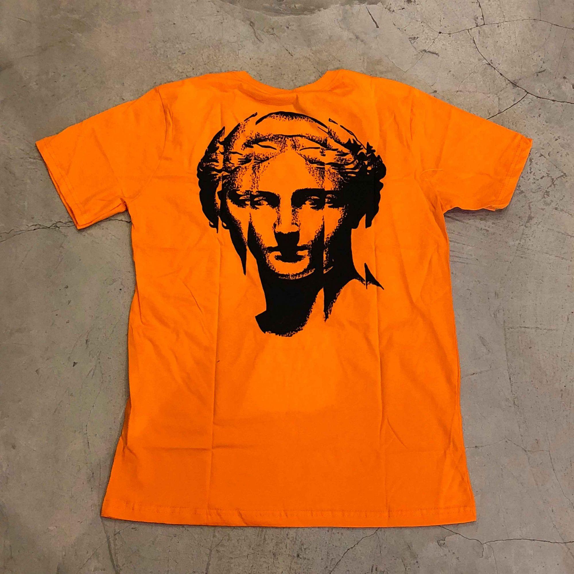 "Camiseta The Rocks ""Statue"" Laranja"