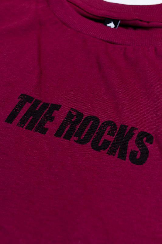 "CAMISETA THE ROCKS ""STATUE"" VINHO"