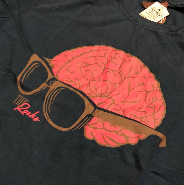 """Camiseta The Rocks """"THE VISION OF THE MIND"""" AZUL"""