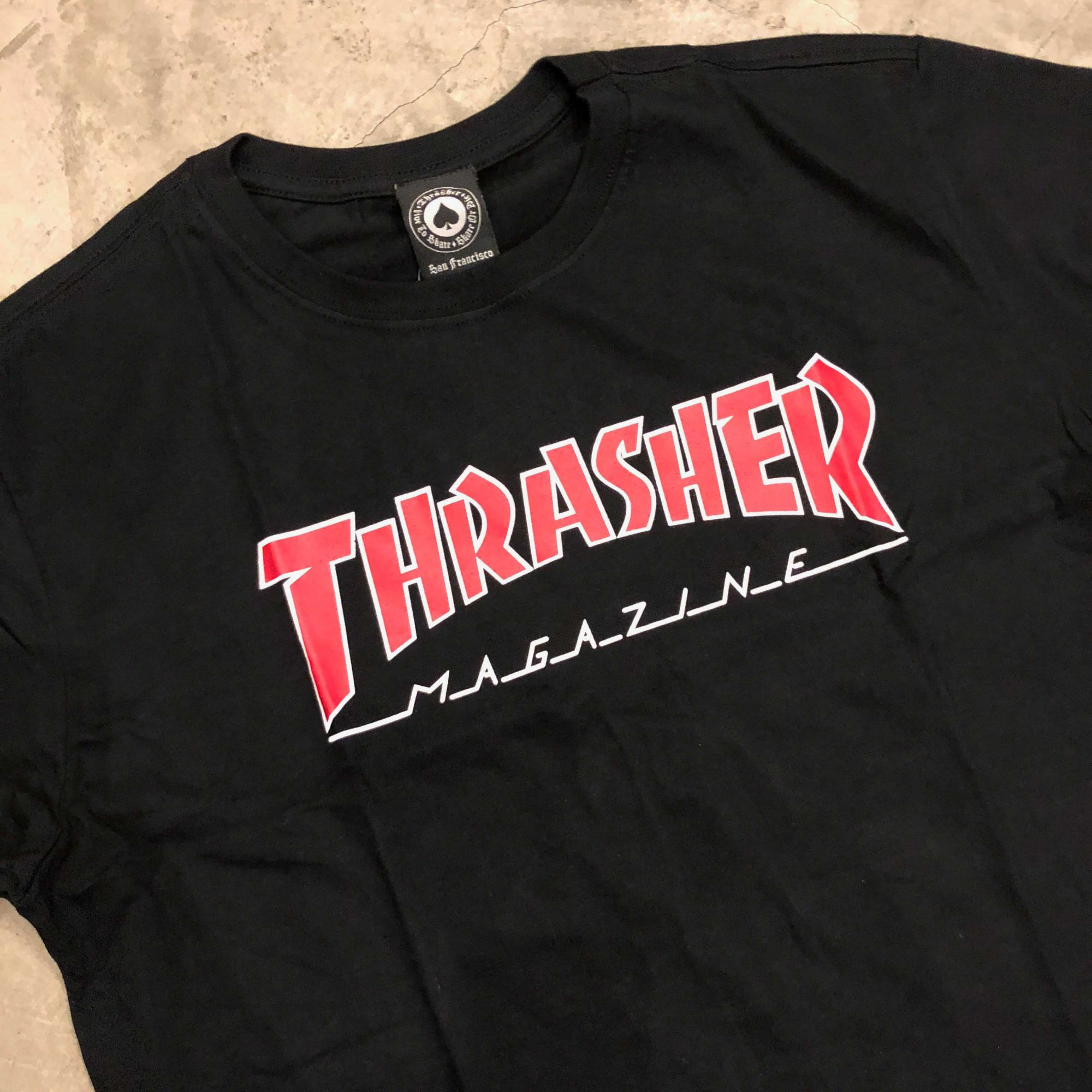 a77186570 Camiseta Thrasher