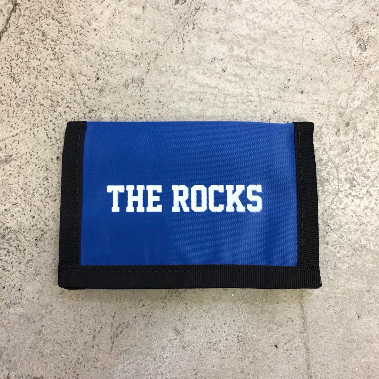 Carteira The Rocks Velcro Azul