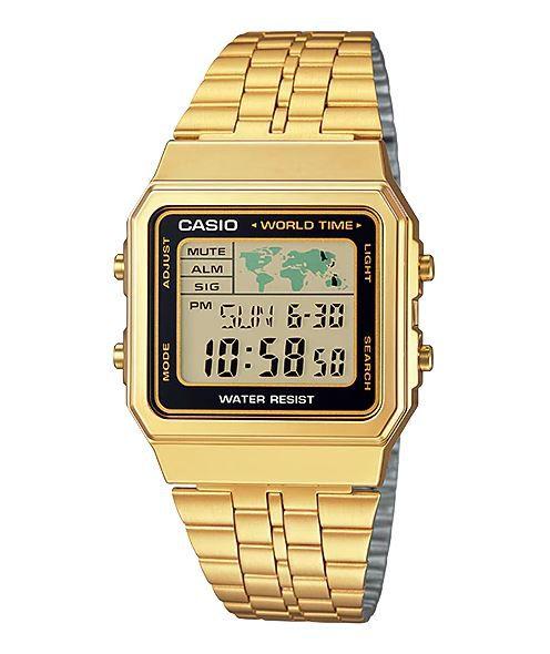 Casio A500WGA Dourado