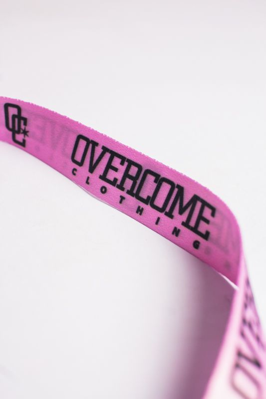CHAVEIRO OVERCOME CO PINK