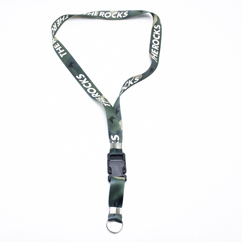 CHAVEIRO THE ROCKS CAMO VERDE