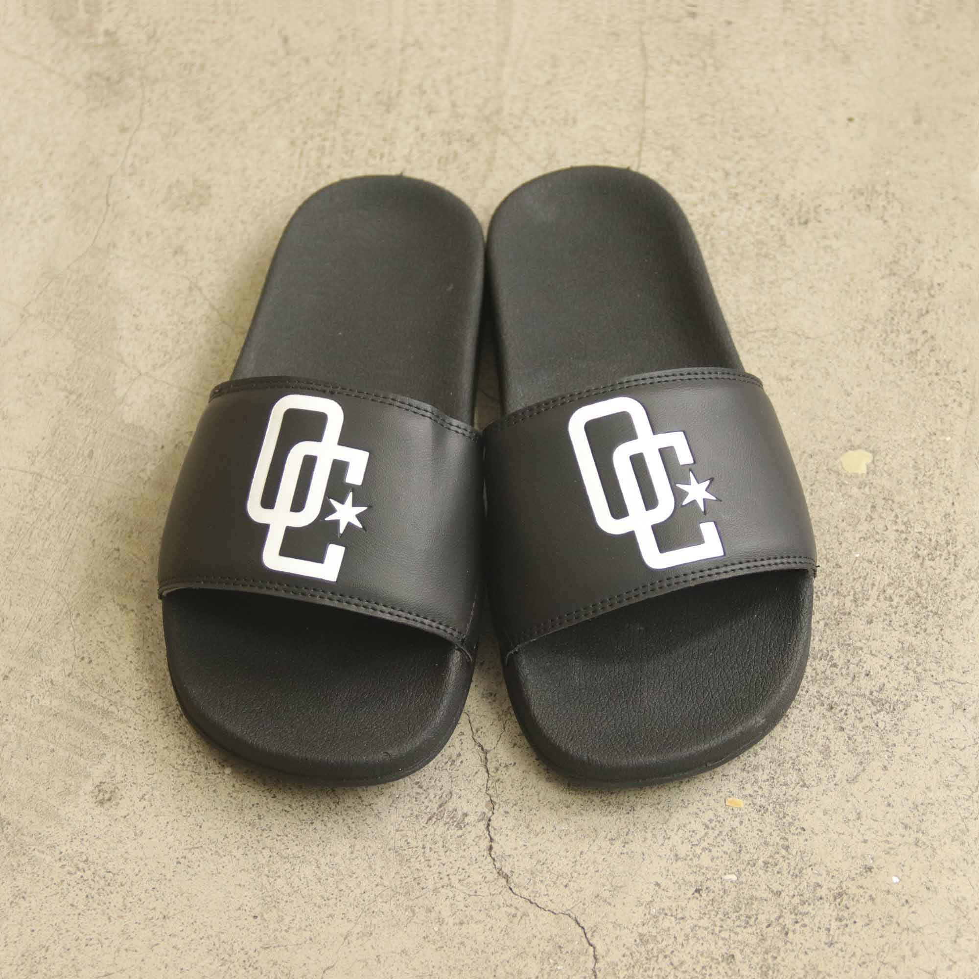"Chinelo Overcome ""Logo"" Preto"