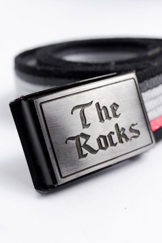 CINTO THE ROCKS PRETO/AZUL/VERMELHO