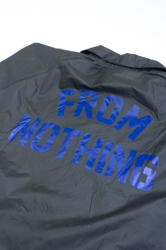 "CORTA VENTO DGK ""FROM NOTHING"" CINZA"