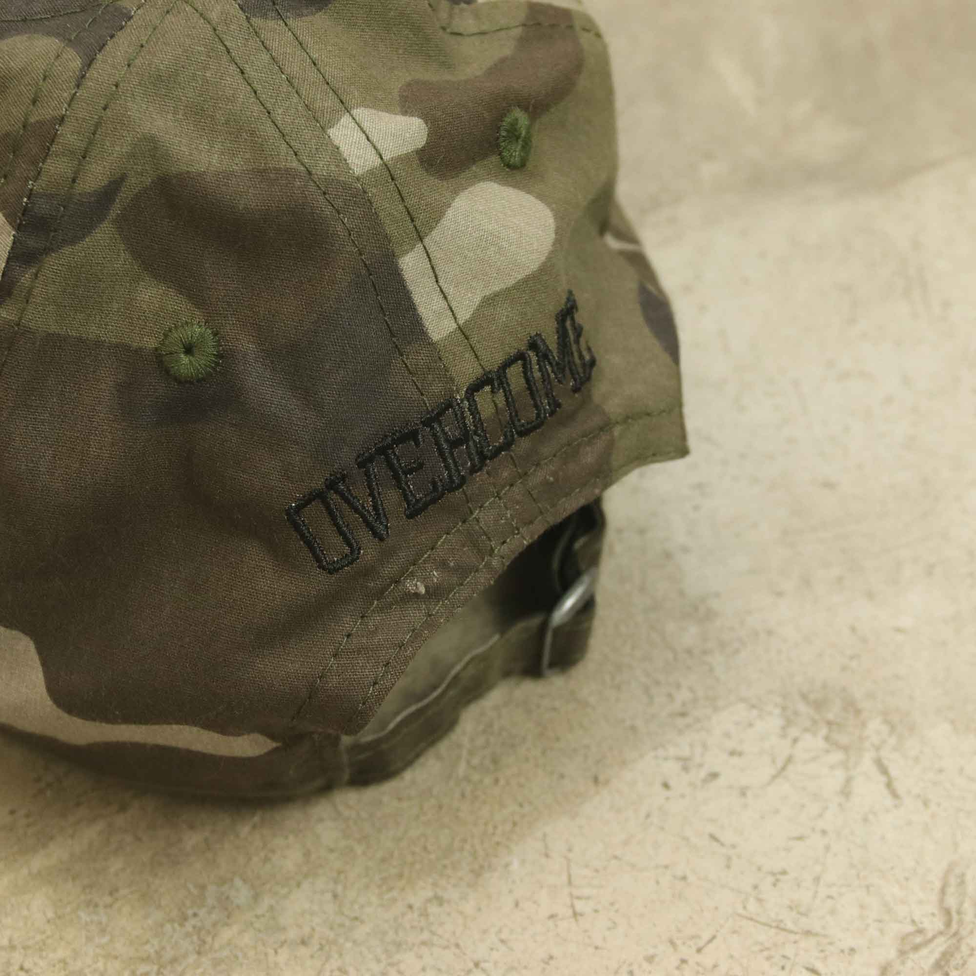 "Dad Hat Overcome ""Logo"" Forest Camo"