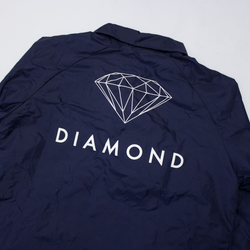 "Jaqueta Corta Vento Diamond ""Futura Sign"" Azul"