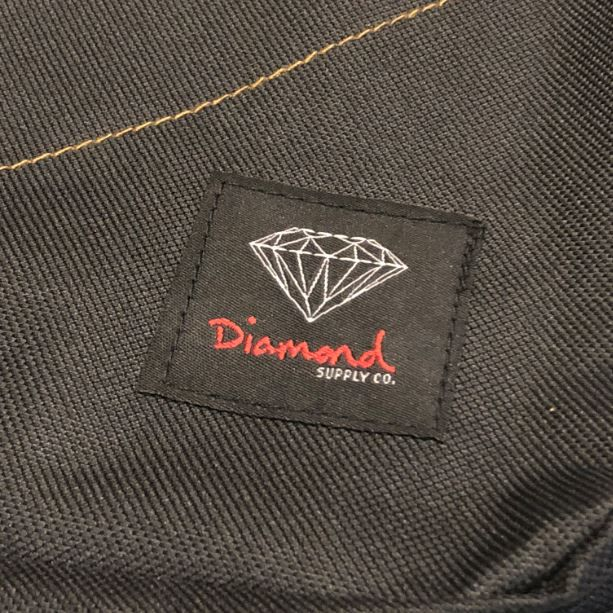 "Mochila Diamond ""Og Logo"" Preta/Marrom"