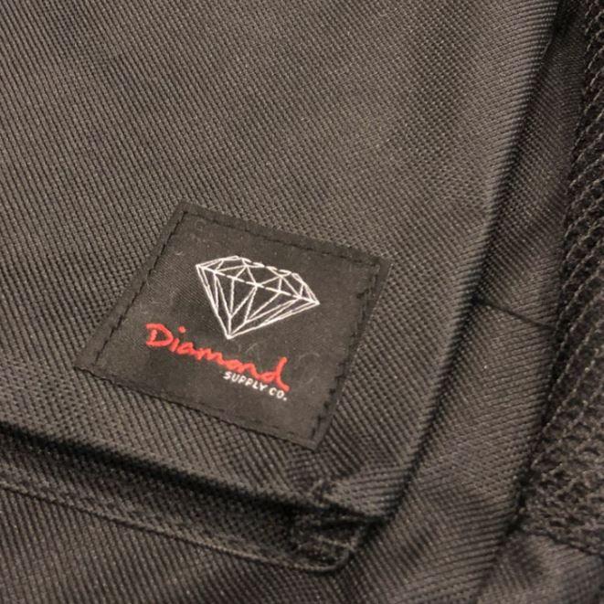 """Mochila Diamond """"Og Logo"""" Preta/Preta"""