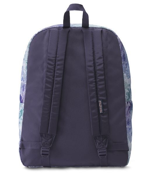 "Mochila Jansport ""Superbreak"" Striped Floral"