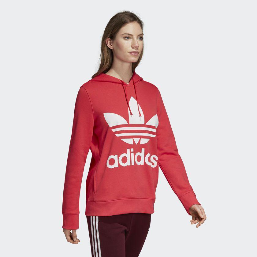 0a2d0ee67 Moletom Adidas Capuz Trefoil W Rosa - Overcome Clothing