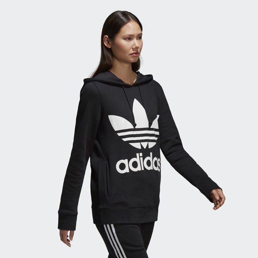 ... Moletom Adidas Capuz Trefoil W Preto - Overcome Clothing 249cdb4c3fdf86  ... 427137bc049