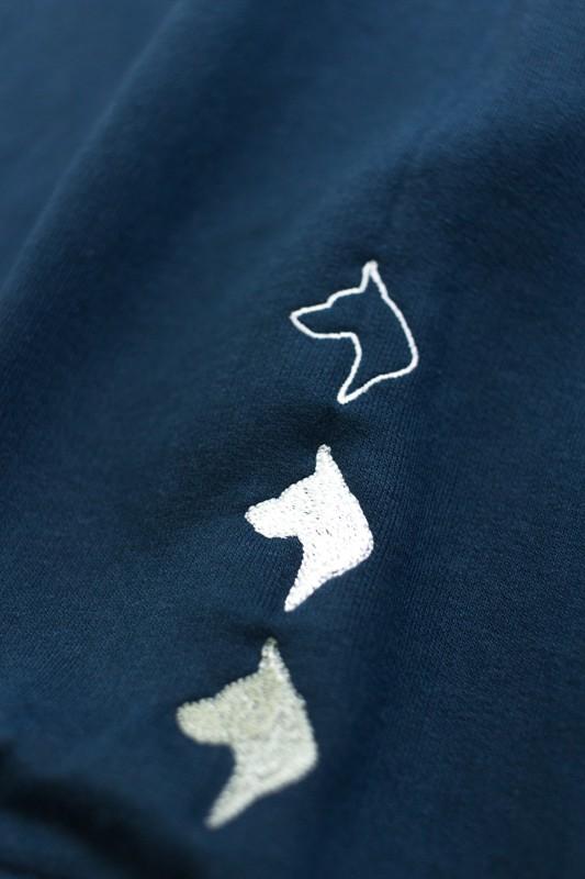 """Moletom Careca The Rocks """"Dogs"""" Azul"""